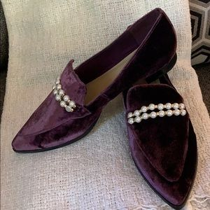 Marc Fisher Shoes - NEW IN BOX Marc Fisher Dark Purple Loafers